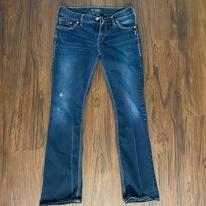 Silver Jeans Suki Mid Slim Boot Cut